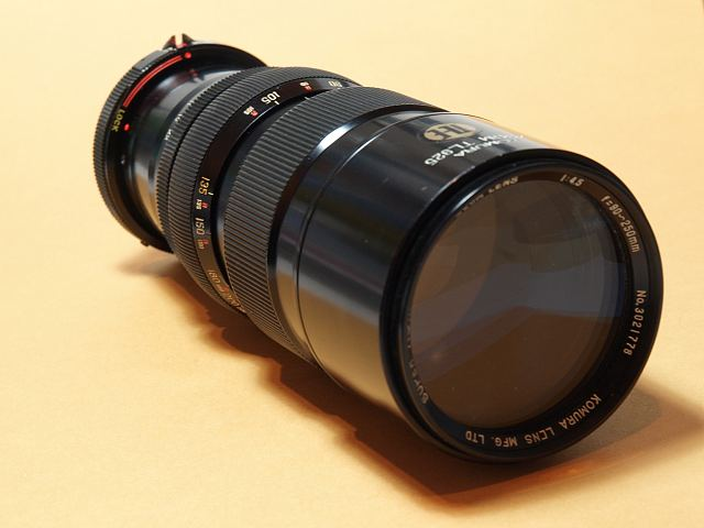 KOMURA 90-250mm F4.5
