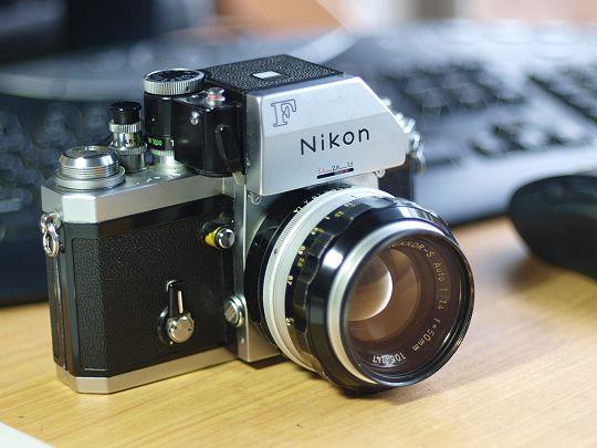 Nikon F Fujinon 55mm