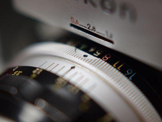 Nikon Fアップ