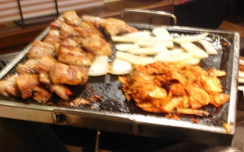 韓国料理縮小