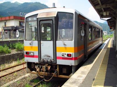 津山行きキハ120形300番台