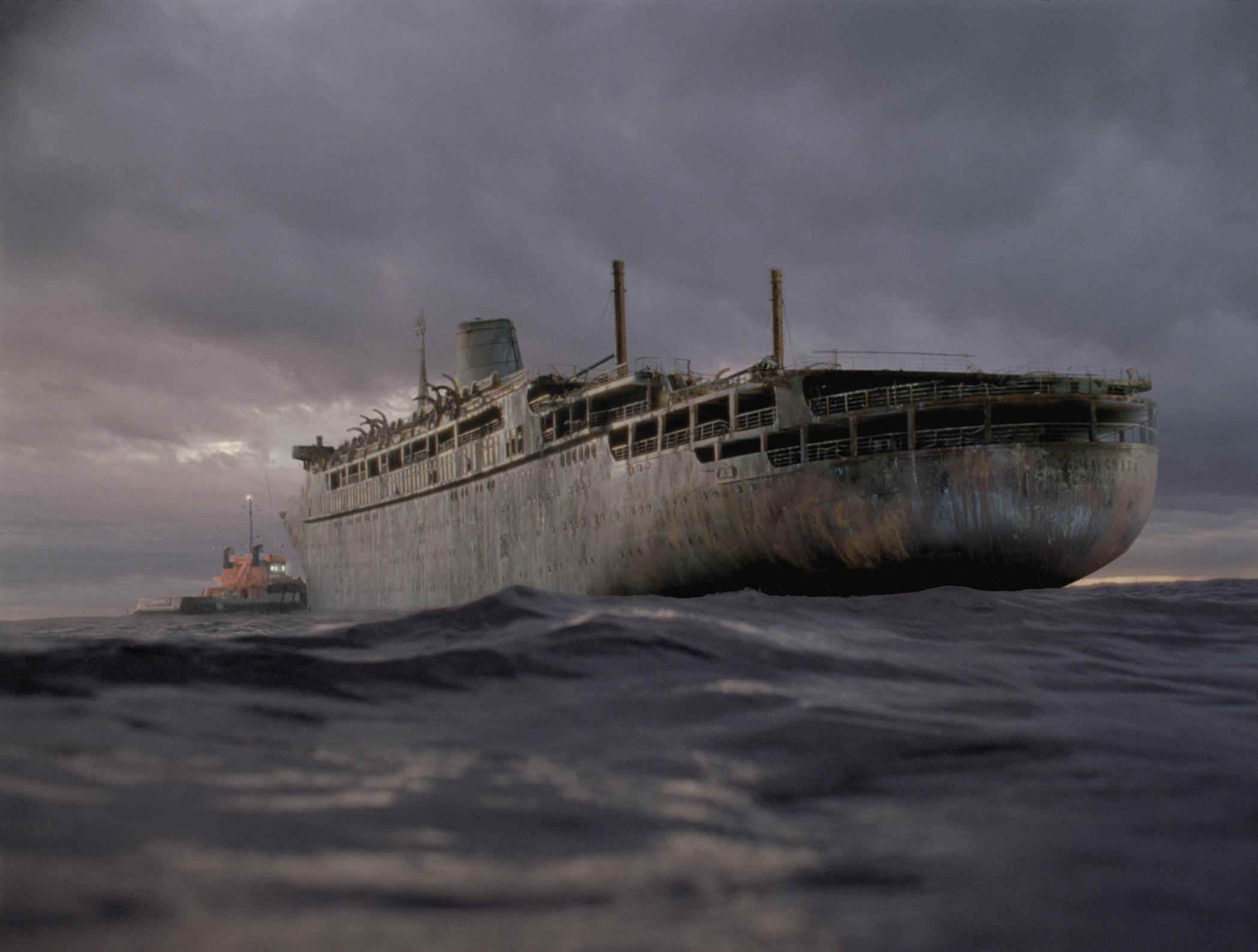 船にまつわる怖い話ってあんまないよね。