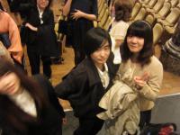 式後の学生