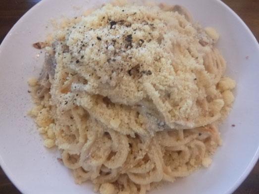 浅草カルボ大盛りデカ盛りスパゲッティカルボナーラ019