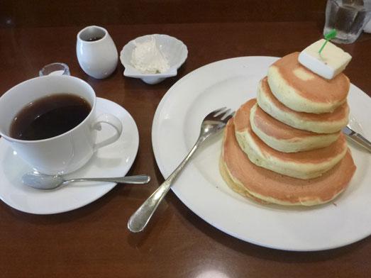 浅草ミモザのパンケーキはビッグホットケーキ021