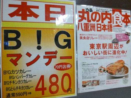 東京駅八重洲地下街カレーショップアルプス001