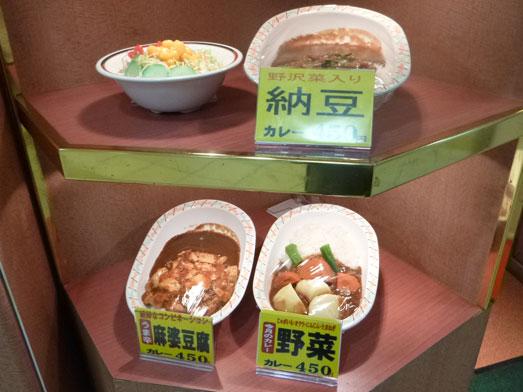 東京駅八重洲地下街カレーショップアルプス007
