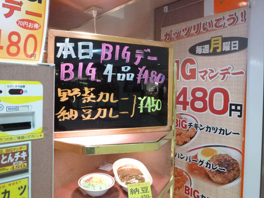 東京駅八重洲地下街カレーショップアルプス008