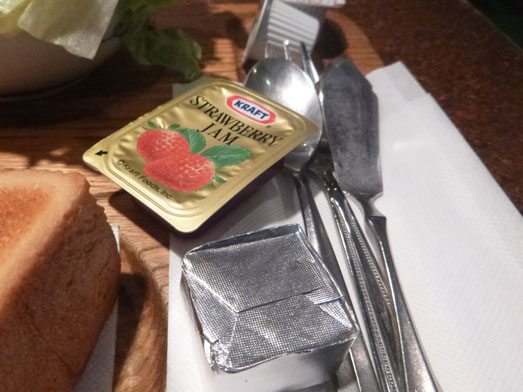 銀座喫茶アメリカンのサンドイッチモーニングセット013