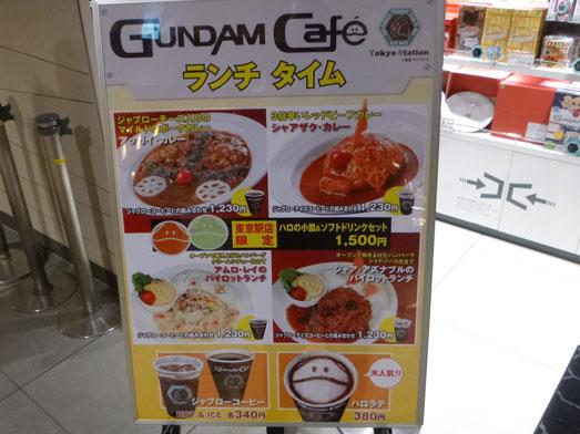 ガンダムカフェ東京駅店で人気メニューハロラテ人形焼004