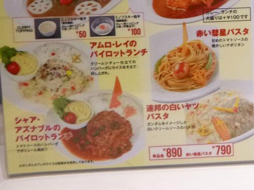 ガンダムカフェ東京駅店で人気メニューハロラテ人形焼007