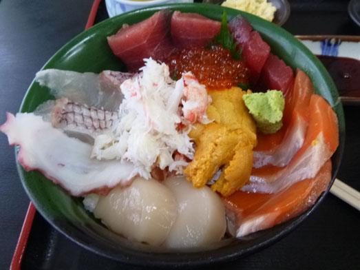 千葉市中央卸売市場長谷川食堂びっくり海鮮丼014