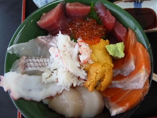 千葉市中央卸売市場長谷川食堂びっくり海鮮丼016
