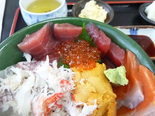 千葉市中央卸売市場長谷川食堂びっくり海鮮丼017