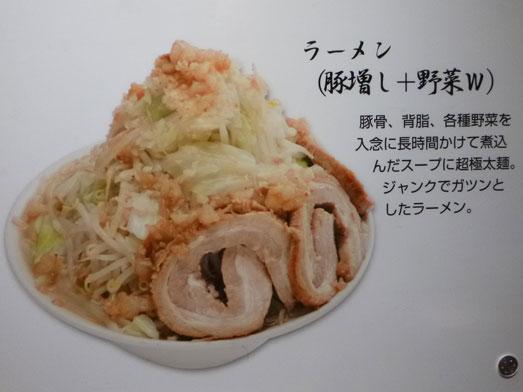 ジャンクガレッジ東京ラーメン豚増し野菜増しダブル006