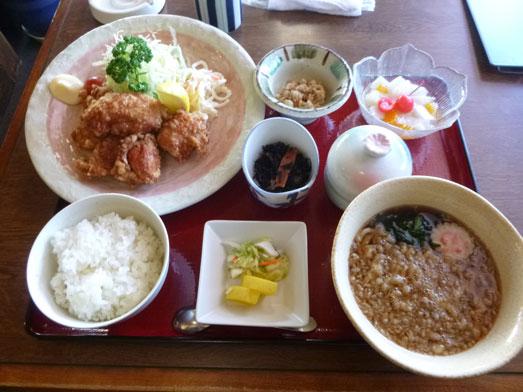 丸光亭ボリュームたっぷりセットメニュー唐揚セット026