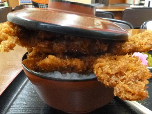 ニコニコ亭群馬渋川のデカ盛りソースカツ丼001