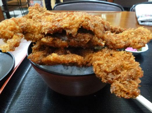 ニコニコ亭群馬渋川のデカ盛りソースカツ丼016
