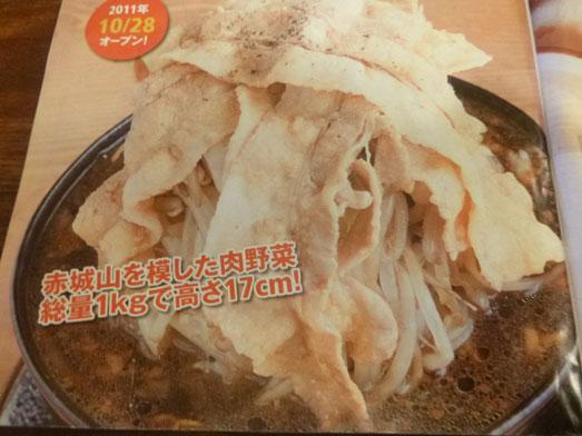 男気らーめんアカギ黒醤油らーめん麺大盛り野菜増し014