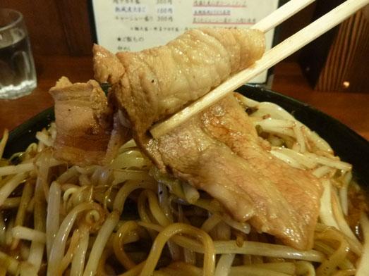 男気らーめんアカギ黒醤油らーめん麺大盛り野菜増し018