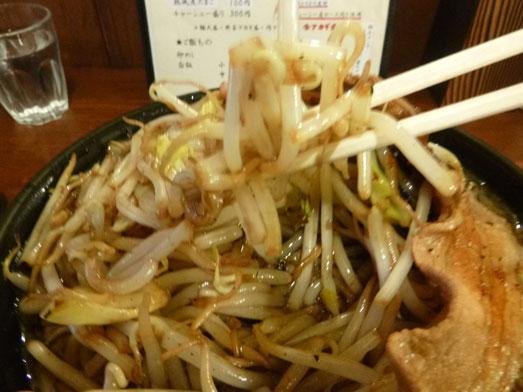 男気らーめんアカギ黒醤油らーめん麺大盛り野菜増し019