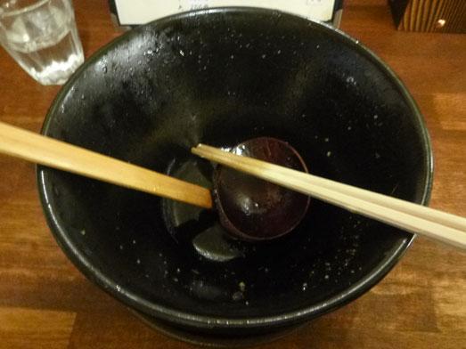 男気らーめんアカギ黒醤油らーめん麺大盛り野菜増し021