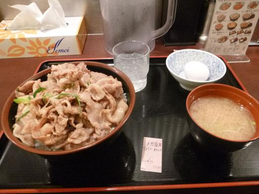 昭和食堂秋葉原駅前店でスタミナ丼メガ盛り042