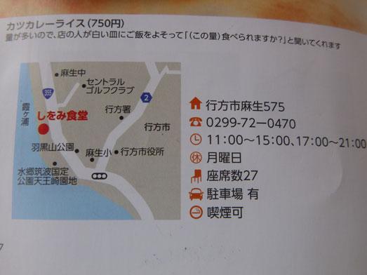 しをみ食堂霞ヶ浦行方市デカ盛りジャンボロースカツカレー021