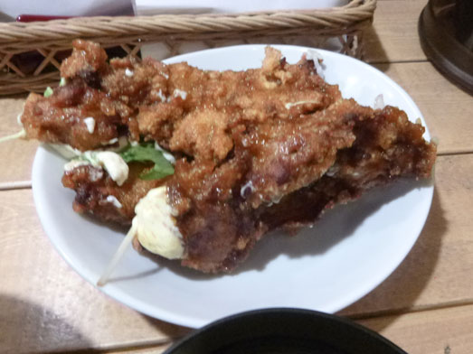 情熱のすためしどんどん秋葉原タルタル唐揚丼大盛り018