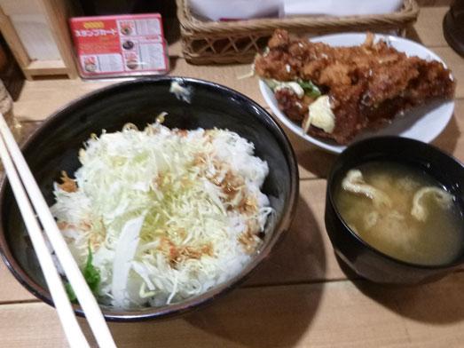 情熱のすためしどんどん秋葉原タルタル唐揚丼大盛り019