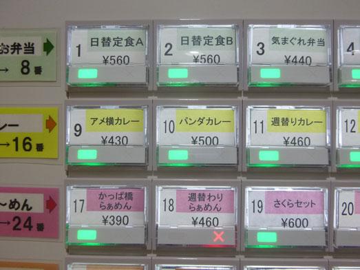 台東区役所食堂チカショクさくらでランチパンダカレー015