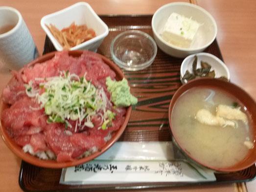 大手町ビル玉乃光酒蔵山田錦店まぐろ丼大盛り013