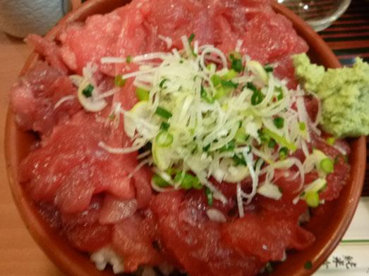 大手町ビル玉乃光酒蔵山田錦店まぐろ丼大盛り014