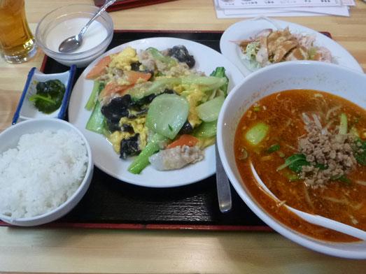 中国料理鉄人千葉旭店週替わりランチメニュー001