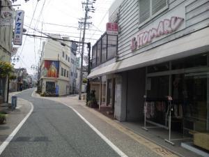 こ~んな商店街にあるお店。