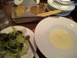 サラダ * スープ * 自家製パン