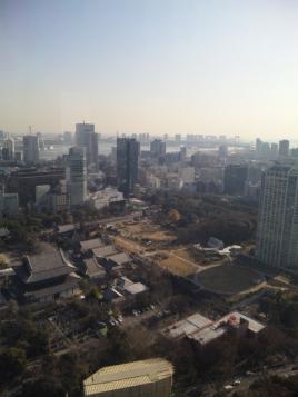 浜松町方向の眺め