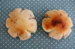 花形くるみパン