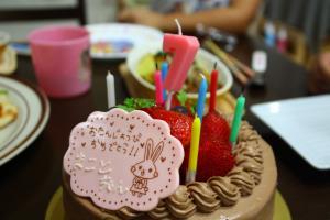 モンパパのケーキ♪