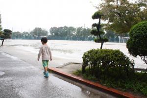 残念ながら 雨・・・
