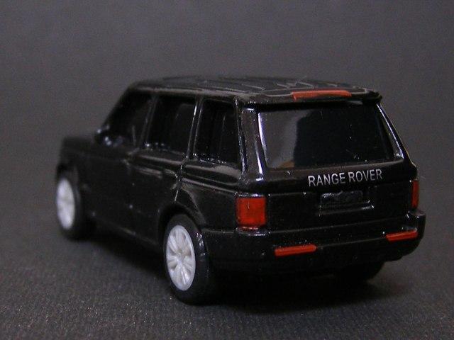 RANGE ROVER VOGUE~ジャガー&ランドローバー ブラックプルバックカーコレクション~