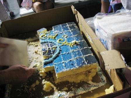 振る舞いケーキ
