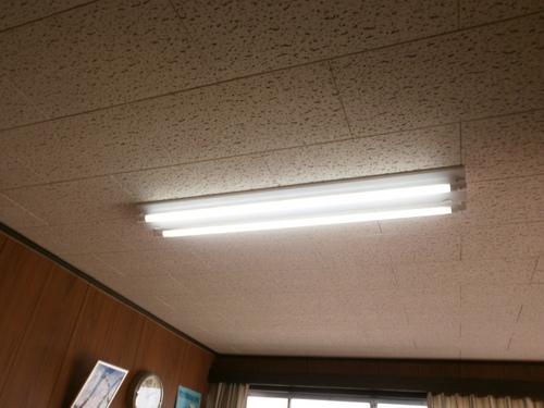 山口市阿知須 S施設様 LED照明取付工事