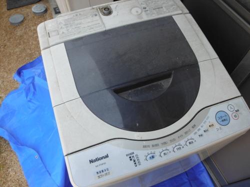 全自動洗濯機分解洗浄