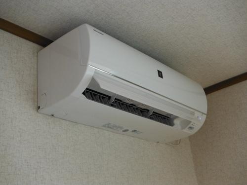 山口市阿知須 M様邸 シャープエアコン AY-C28EX 取付工事