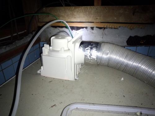 パソコン設定 浴室換気扇取替工事