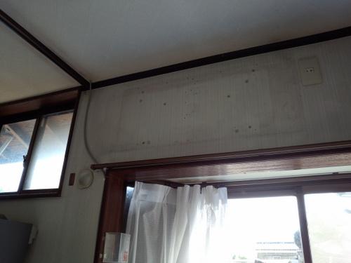 山口市阿知須 S様邸 ダイキンエアコン S28MTCXS 取付工事