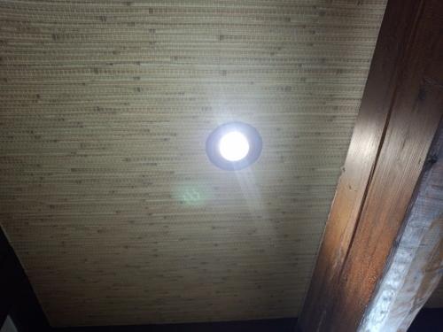 LEDダウンライト取付