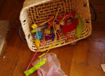 おもちゃ箱が・・