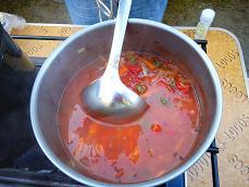 トマトとあさりのスープ